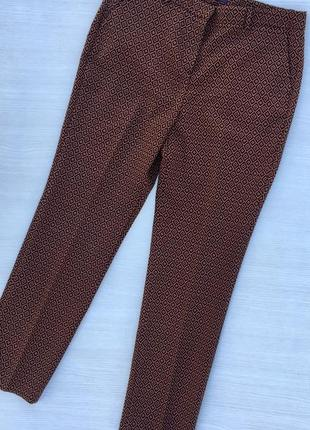 Стильные зауженные брюки m&s
