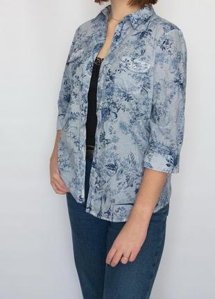 Блуза, рубашка, mona, германия, хлопок