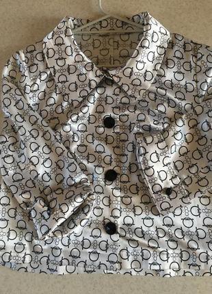 Легкий летний пиджак-блуза