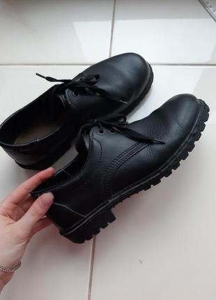 Ботинки кожаные, оксфорды