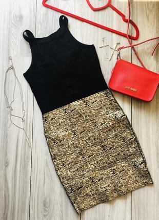 Эффектное бандажное платье xs