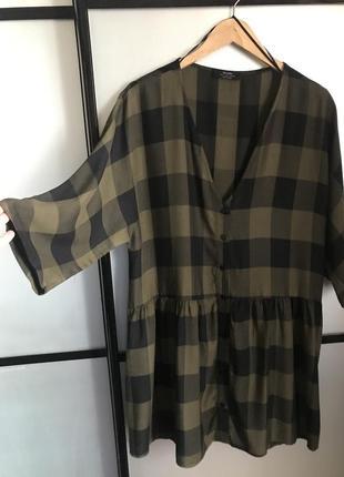 Платье рубашка xxl