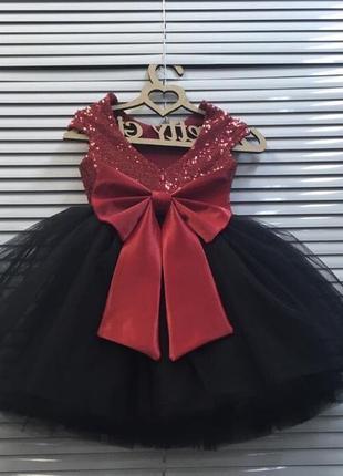 Платье бальное пышное фатиновое праздничное с пайетками мини мики маус впол длиное макси