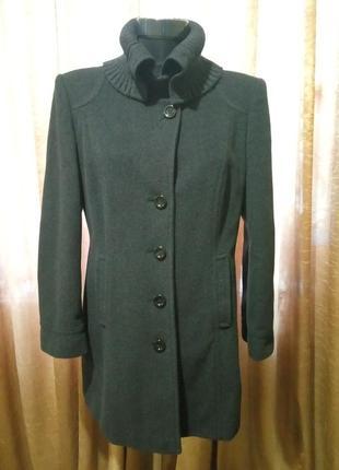 Крутое пальто шерсть и кашемир fuchs schmitt