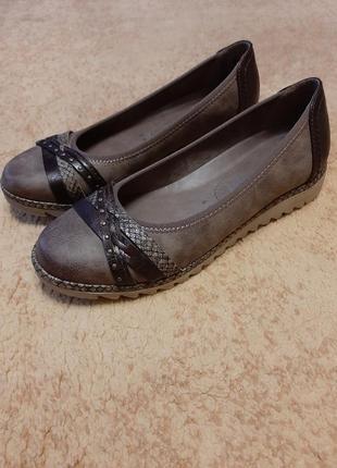 Балетки мокасины туфли натуральная кожа по типу clarks calvin klein michael kors ecco