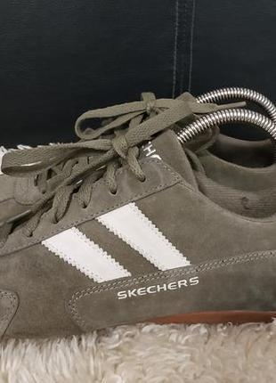 Skechers кроссовки замша