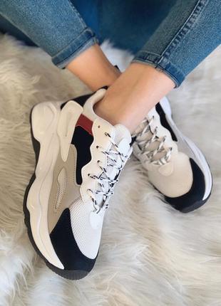 Белые кроссовки в стиле баленсиага balenciaga все размеры распродажа