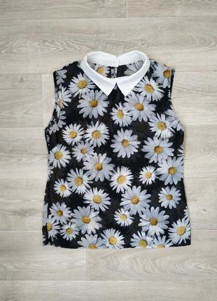Легкая блузка с воротником atmosphere