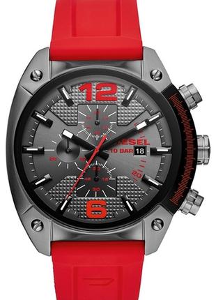 Мужские часы diesel c хронографом, 49 мм x 55 мм, оригинал!