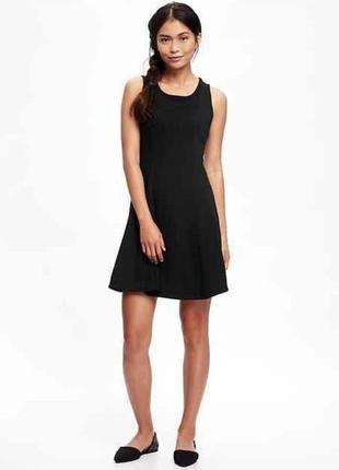 Gap old navy double-knit fit & flare dress