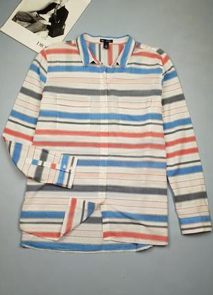 Рубашка в полоску gap p. xl