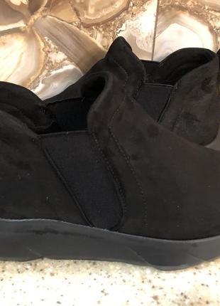 Ботинки нат. замша