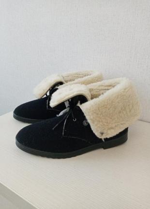 В наличии теплые зимние фетровые ботинки inblu. украино-итальянское пр-во.