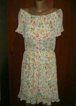 Платье сарафан женский плиссе