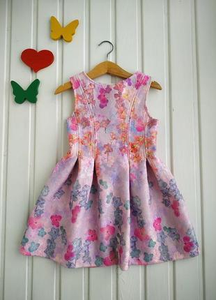 4 года, платье нарядное,debenhams