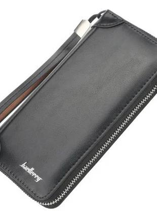 Мужской кошелек портмоне baellerry (s8391) черный