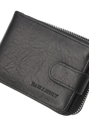 Мужской кошелек бумажник baellerry (к2078) черный