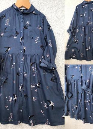 Красивейшее платье h&m 8-9 лет