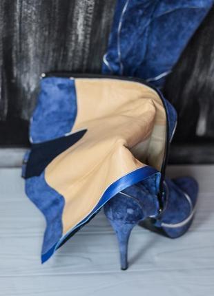 Высокие сапоги на каблуку nando muzi