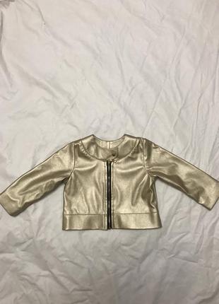 Стильная курточка для маленьких модниц