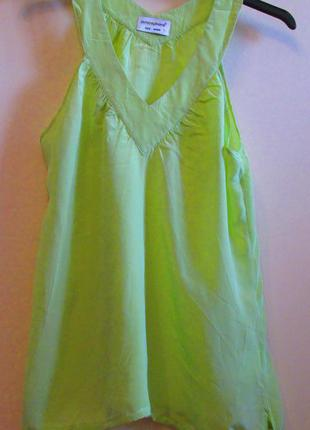 Распродажа легкая невесомая блуза atmosphere шелк  размер 10-12