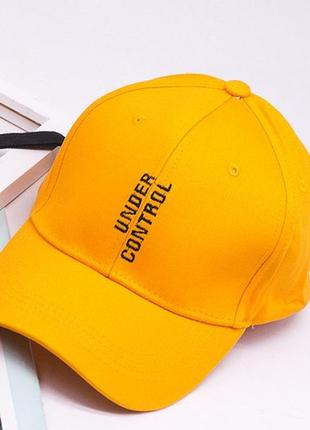 13-102 бейсболка under control головные уборы кепка панамка
