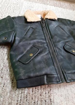 Ele baby куртка парка косуха утепленная демисезонная. англия