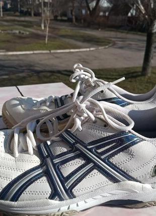 Комфортные кожаные кроссовки asics gel 42 разм