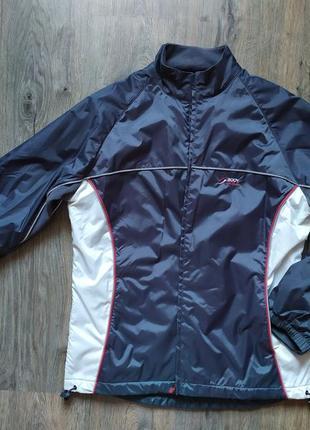 Крутая куртка ветровка на флисе tcm  tchibo германия, m-l  46-48