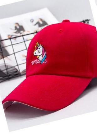 13-184 бейсболка единорог головные уборы кепка панамка