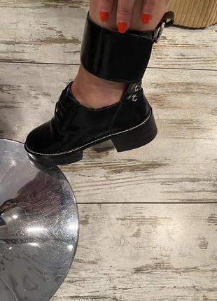 Шикарные ботинки кожа louis vuitton4 фото