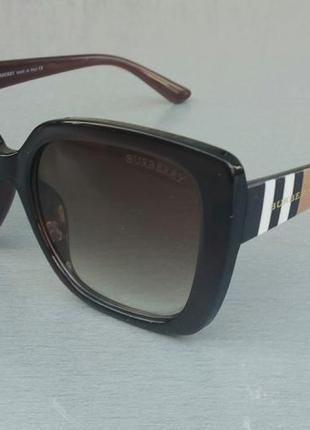 Burberry очки женские солнцезащитные коричневые