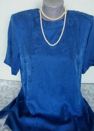Красивая блуза 100%  натур. шелк