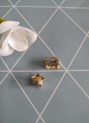 Сережки зірки, серьги asos