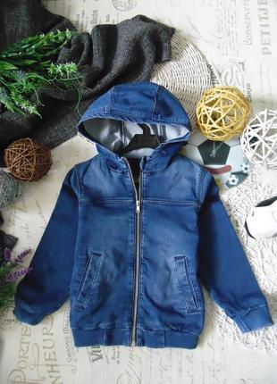 4-5лет.джинсовая куртка ветровка h&m