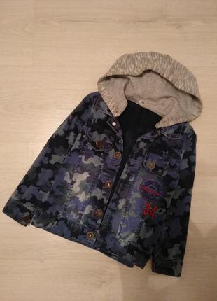 Куртка джинсовка на 2-3 года