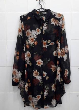 Милая шифоновая блуза рубашка дефект