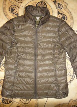 Ультратонкая демисезонная женская куртка пуховик america todey enjoy р.46-48