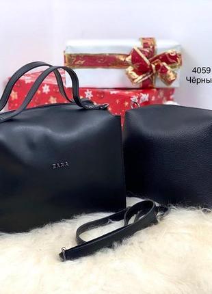 Женская сумка экокожа комплект (арт.л52)