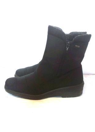 Удобные мембранные сапоги / полусапоги / ботинки jenny-tex, р.37 код a3745