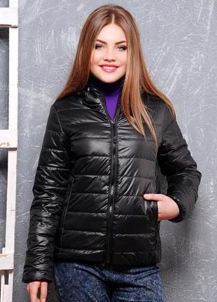 Стильная ультра легкая куртка пуховичек cool cat р. 46 (м) черная швеция