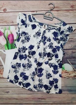 Стильная нарядная блузка шифоновая