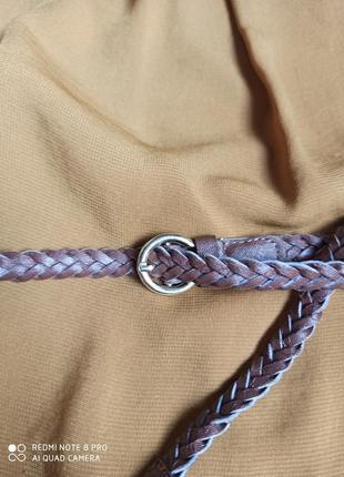 Стильний базовий універсальний плетений ремінець