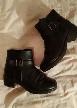 Зимние ботинки полусапожки