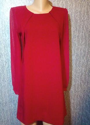 Шикарное, красное платье. h&m
