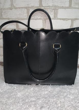 Кожаная брендовая сумка,оригинал asos