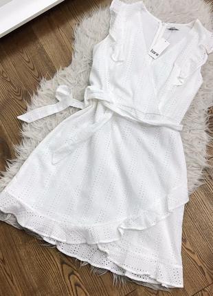 Розкішна бавовняна сукня з прошви, нова!
