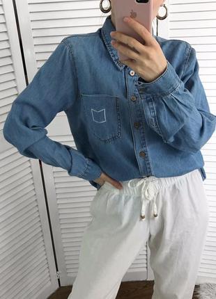 Крута джинсова сорочка