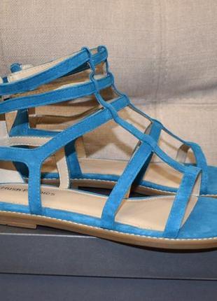 Кожаные сандалии босоножки гладиаторы hush puppies 10us 41 р 27 см