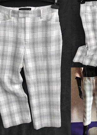 Укороченные брюки zara идеал м